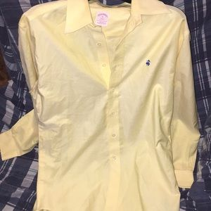 Brooks brothers Long sleeve button up yellow